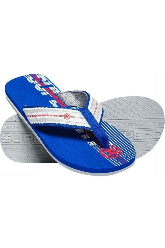 Superdry Flip Flop Trophy royal blue