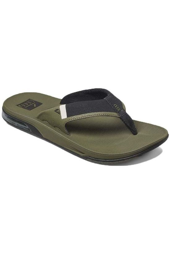 Reef Slipper Fanning Low Donkerkaki