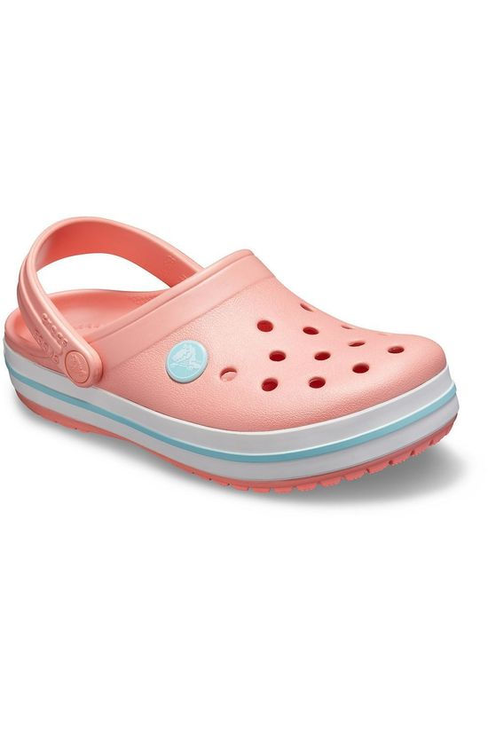 Crocs Tongs Crocband Rose Clair/Bleu