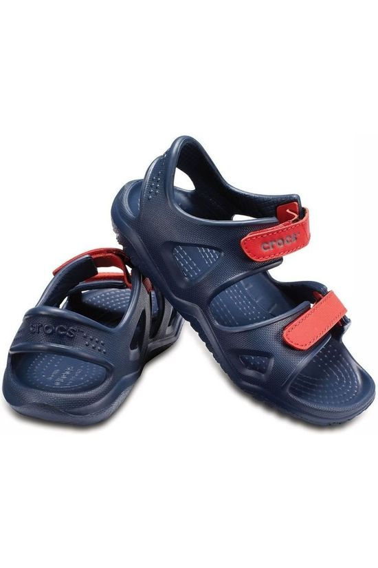 Crocs Sandaal Swiftwater River Marineblauw/Rood