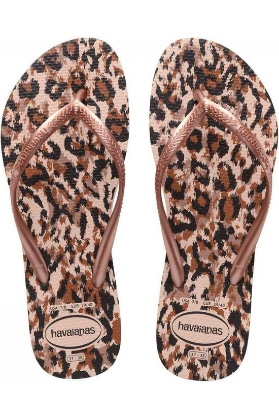 Havaianas Flip Flops Slim Animals Assortment/sand
