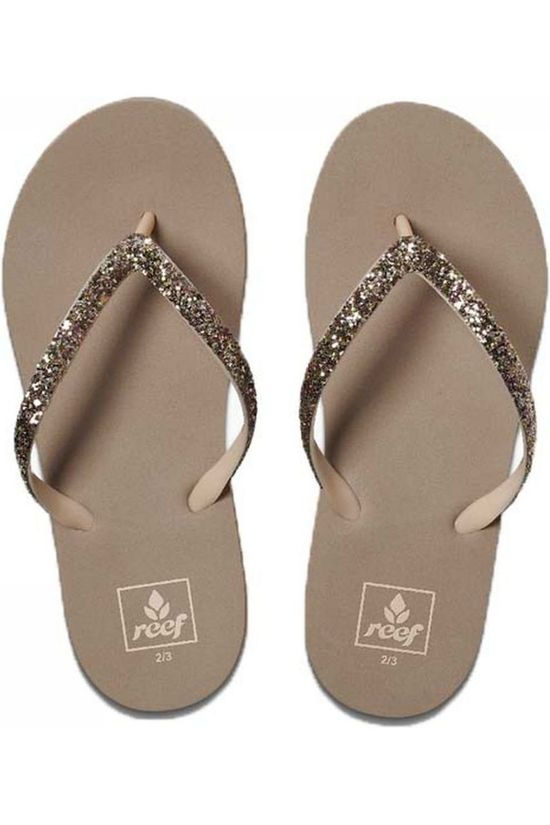 Reef Flip Flop Little/Kids Stargazer Taupe