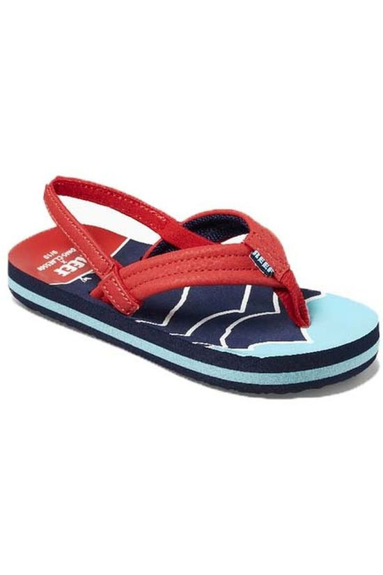 Reef Flip Flop Jonas Claesson Little/Kids Ahi red/blue