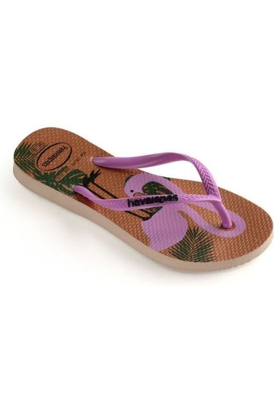 Havaianas Tongs Slim Glitter Rose Clair