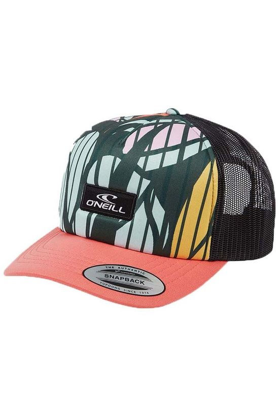 O'Neill Hat Bm Trucker Cap Black/Ass. Flower