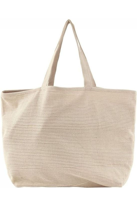 Pieces Bag nulle Shopper Bch Ecru