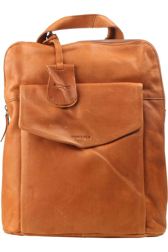 Burkely Bag Just Jackie Backpack Crossover Camel Brown