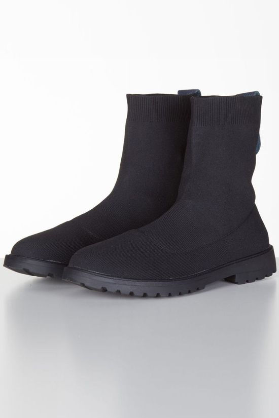 Yaya Boot Knitted black