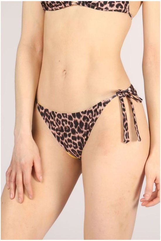 Catwalk Junkie Slip S Wild Side Bottom Brun Moyen/Ass. Camouflage