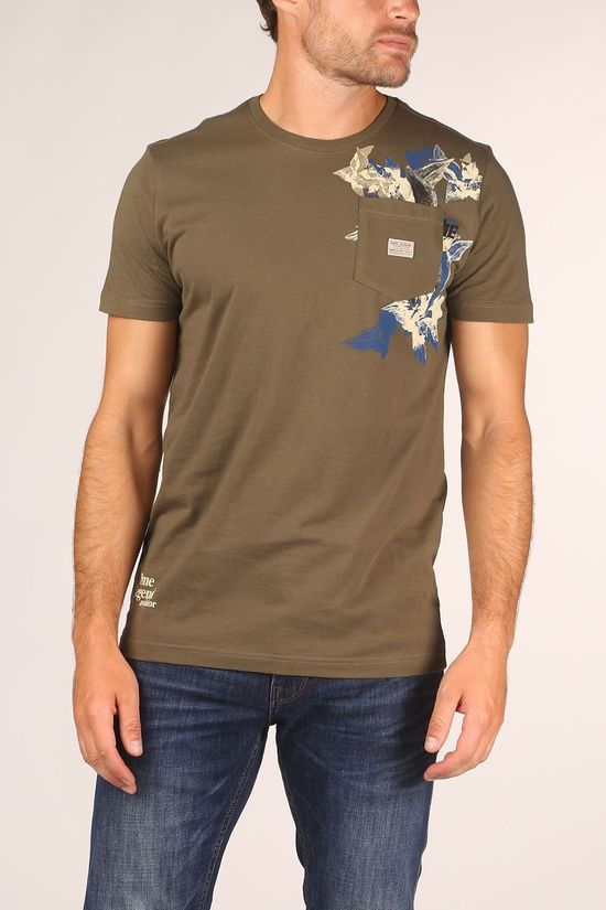 PME Legend T-Shirt Ptss205593 Middenkaki