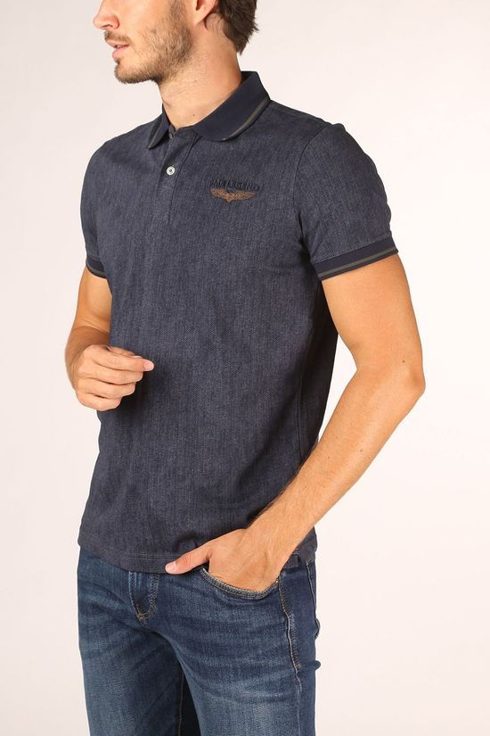 PME Legend Polo Ppss205853 mid blue