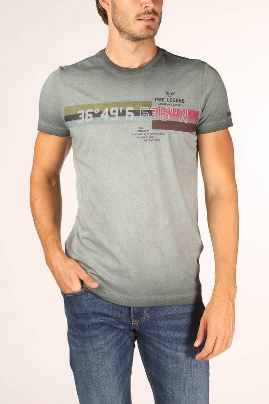 PME Legend T-Shirt Ptss205532 light grey