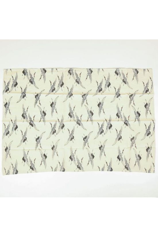 Yaya Home Handdoek Tea Towel - Fly Like A Bird Gebroken Wit/Ass. Geometrisch