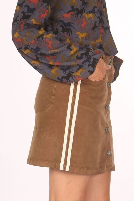 Geisha Skirt 96541-48 Camel Brown
