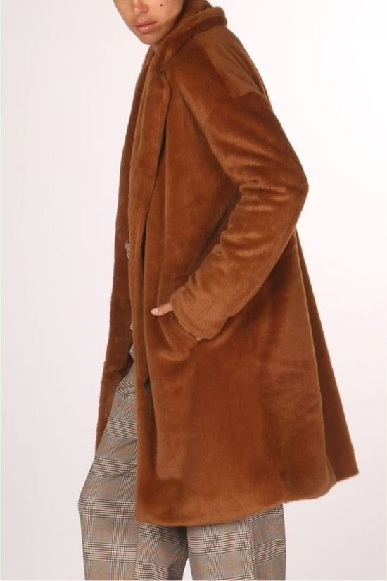 Geisha Coat 98504-11 Camel Brown