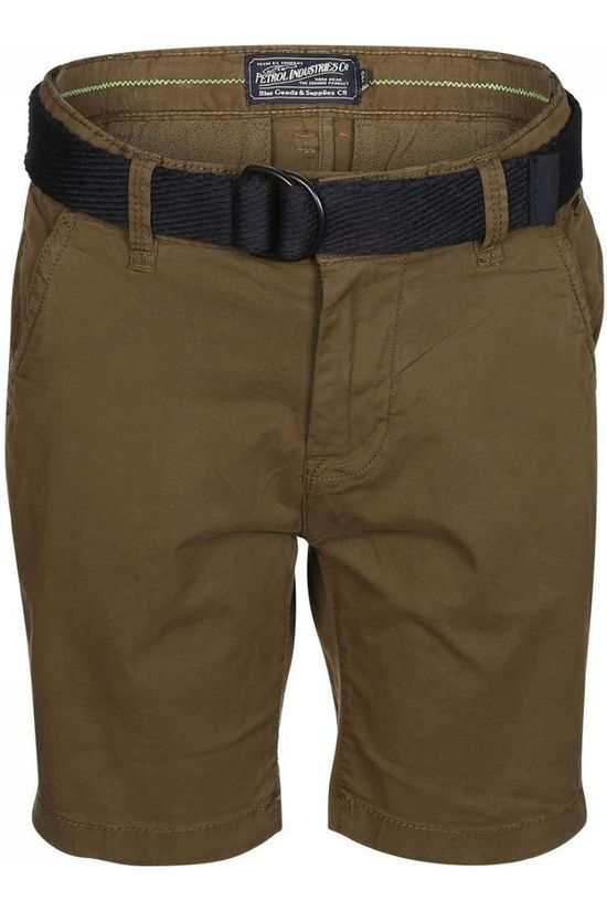 Petrol Shorts Chino dark khaki