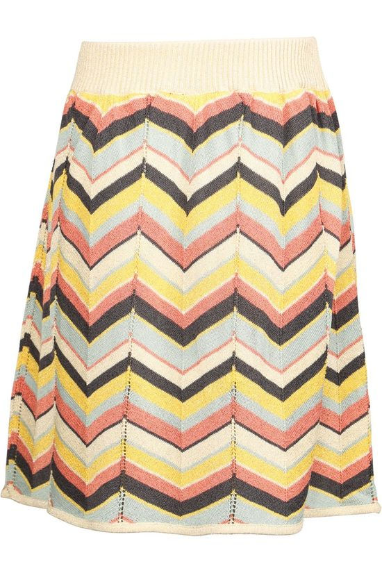 Like Flo Skirt Flo Girls Knitted Zigzag Assorted / Mixed