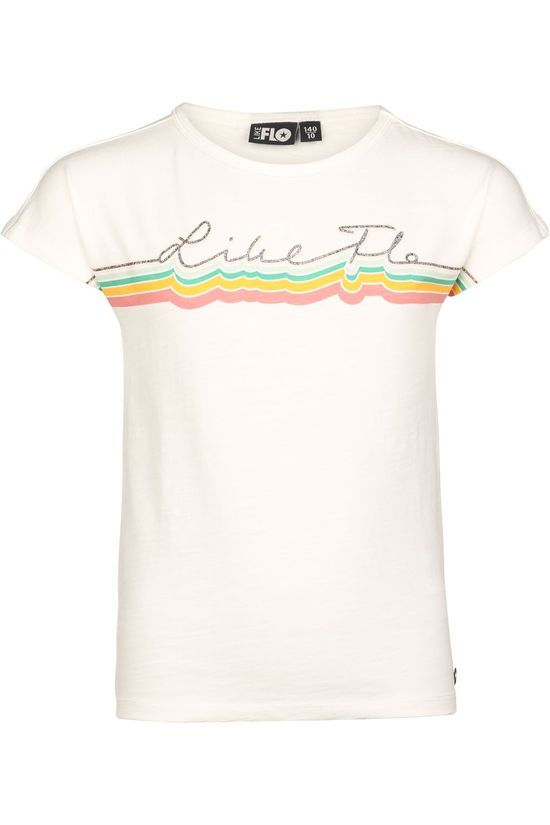 Like Flo T-Shirt Flo Girls Jersey Tee Like Flo off white