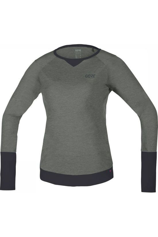 Gore Wear T-Shirt C5 Trail mid grey/dark grey