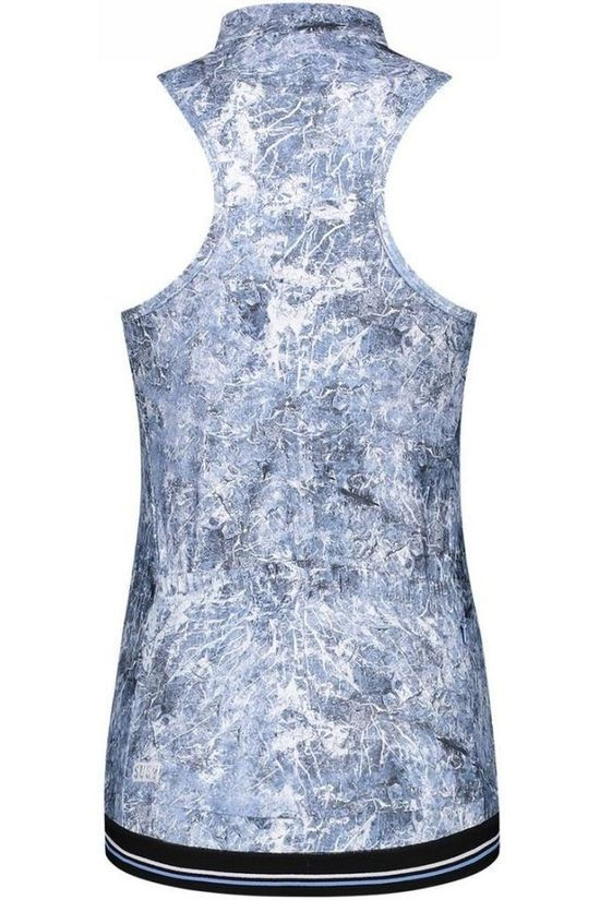 Susy Cyclewear T-Shirt Susy Sleeveless light blue/white