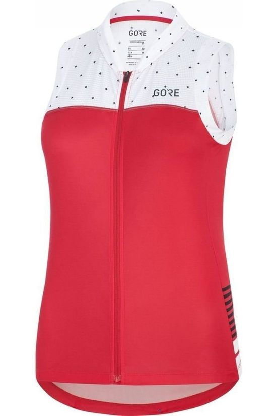 Gore Wear T-Shirt C5 Sleeveless mid pink/white