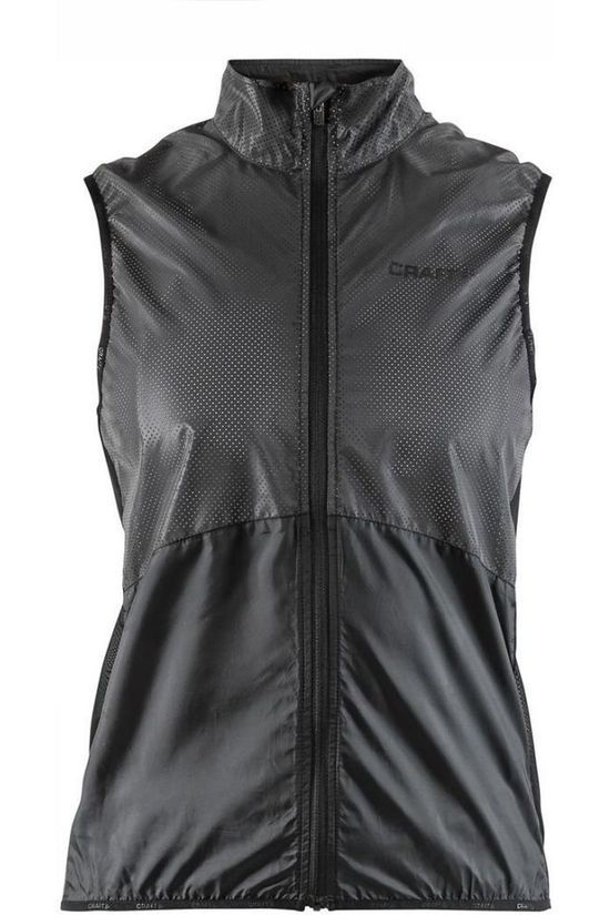 Craft Windstopper Glow Vest W Zwart