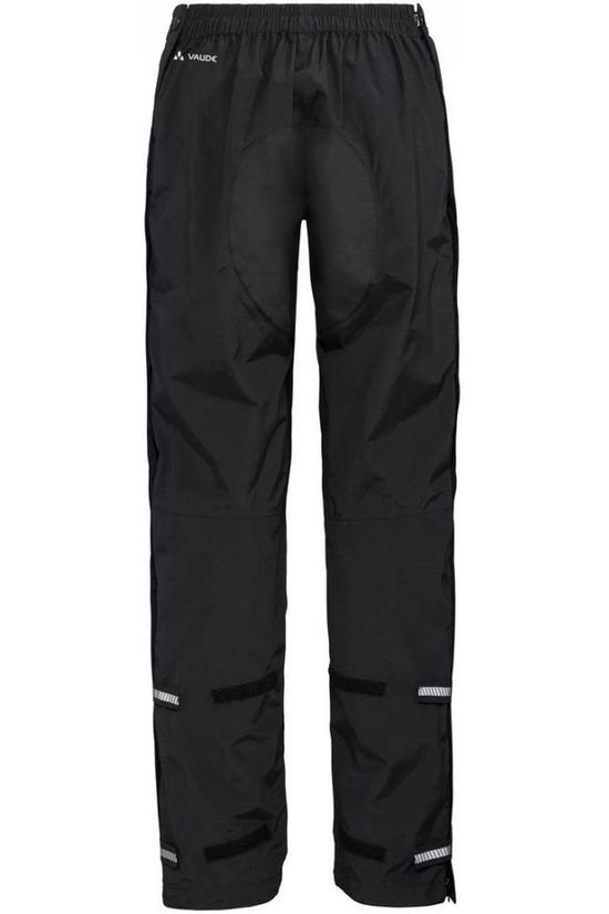 Vaude Trousers Yaras Rain Zip III black