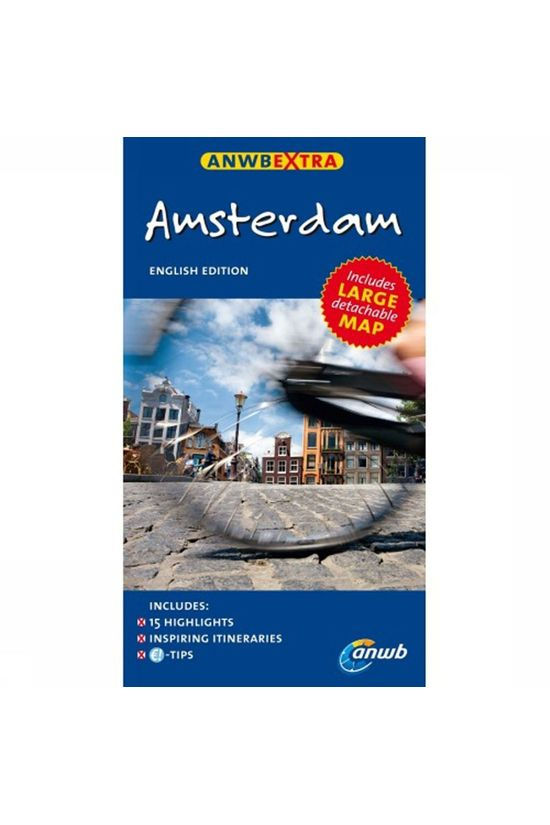 ANWB Amsterdam Extra English edition 2013