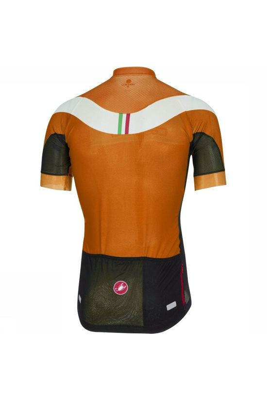 Castelli T-Shirt Distanza FZ Orange