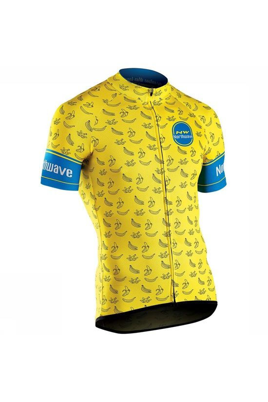 Northwave T-Shirt Banana Split Jaune