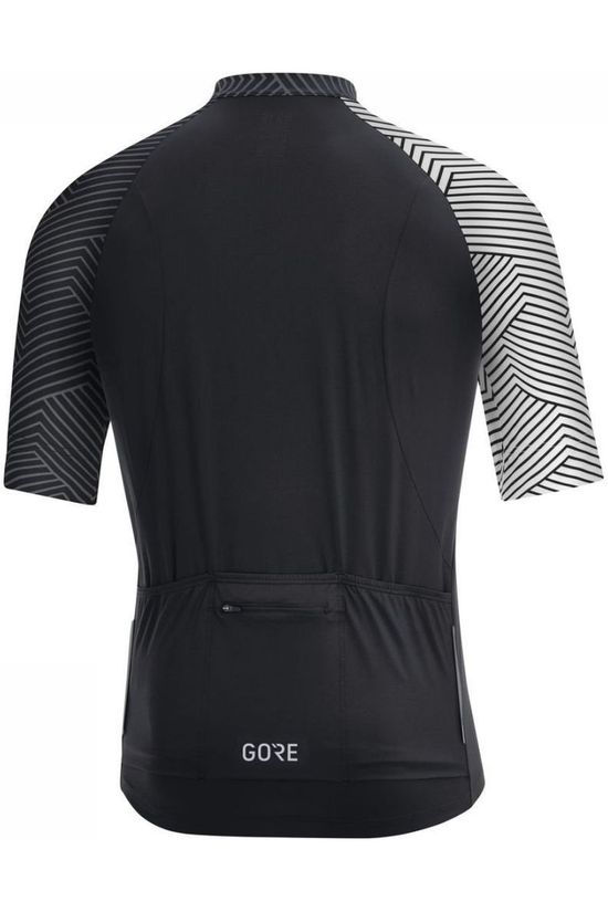 Gore Wear T-Shirt C5 Optiline black/white