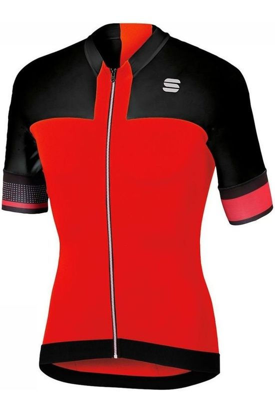 Sportful T-Shirt Strike black/red