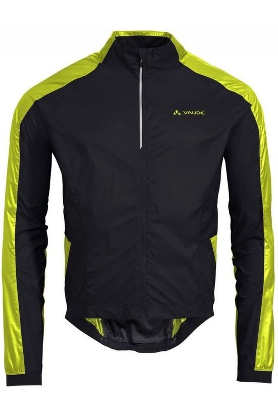 Vaude Windstopper Air Pro black/yellow