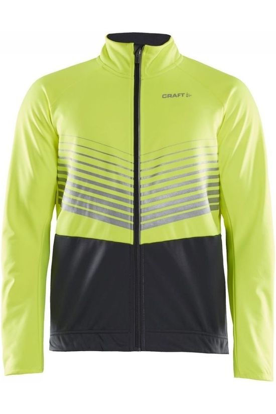 Craft Softshell Softshell Ideal Jacket M yellow/dark grey