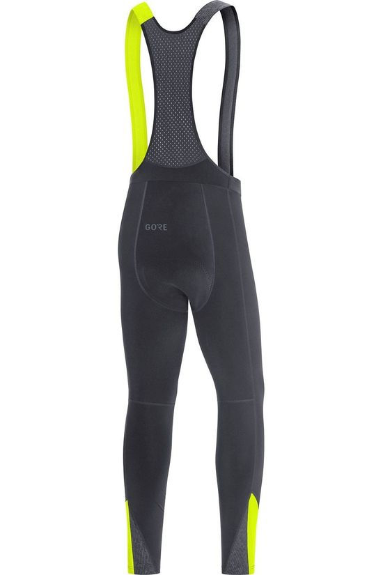 Gore Wear Trousers C5 Thermo Bib Tights + black/mid yellow