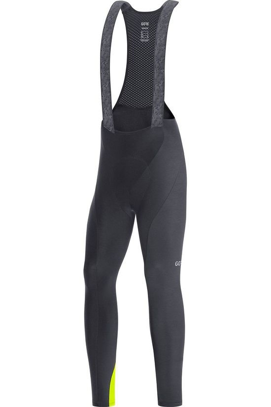 Gore Wear Pantalon C3 Thermo Bib Tights Noir/Jaune Moyen