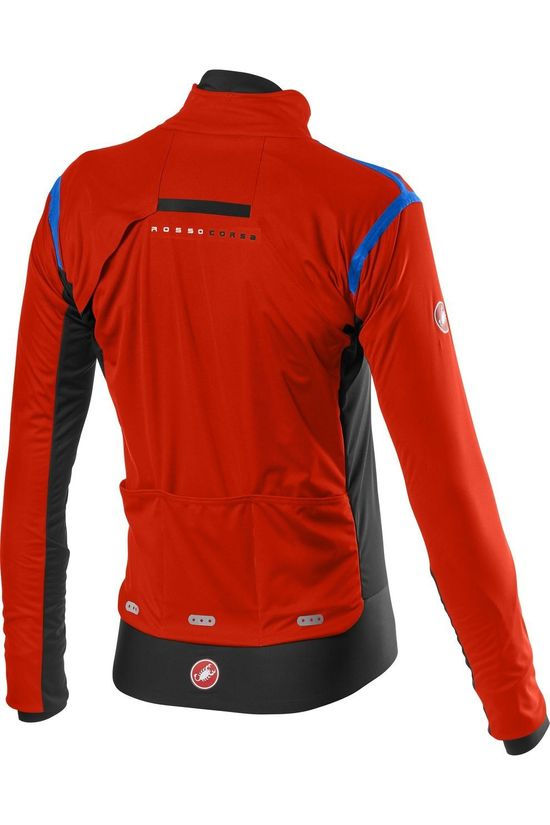 Castelli Cycling Jacket Alpha Ros 2 red