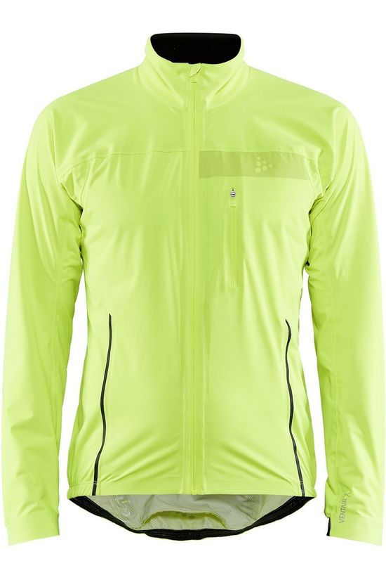 Craft Cycling Jacket Surge Rain Jkt M Lime Green