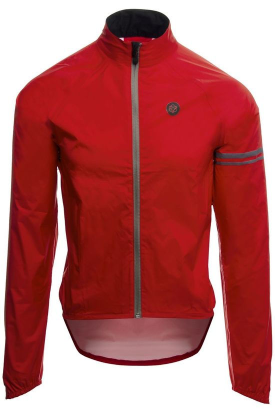 Agu Cycling Jacket Essential Rain red