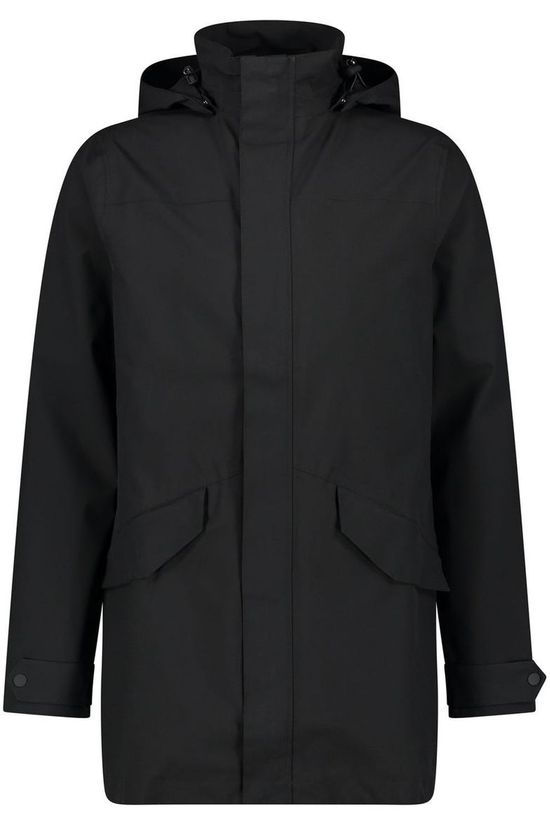 Agu Cycling Urban Outdoor Long Parka black