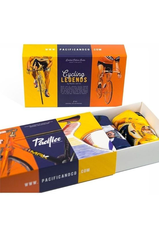 Pacific and Co Gift Box Kous Cycle Legends Assorti / Gemengd