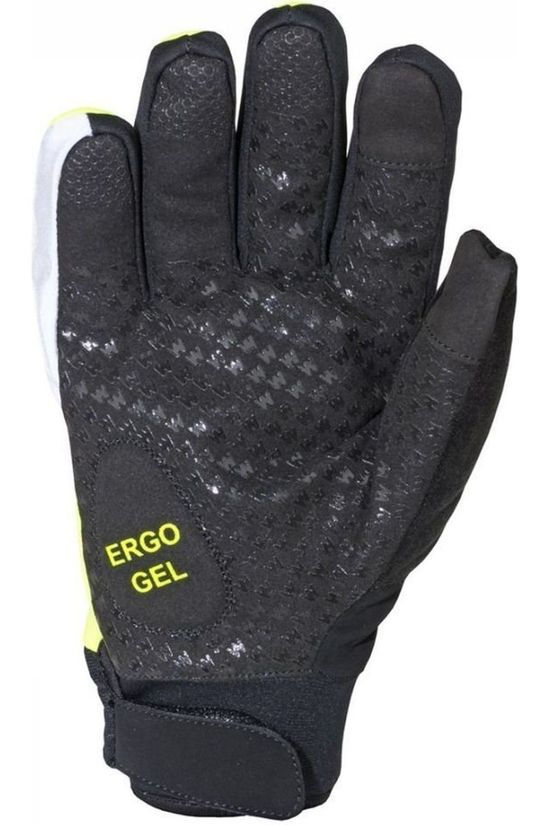 Wowow Glove Avalanche black/yellow