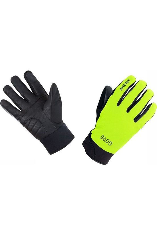 Gore Wear Glove Gore-Tex Thermo C5 mid yellow/black