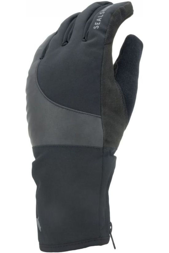 Sealskinz Handschoen Cold Weather Reflective Wp Zwart