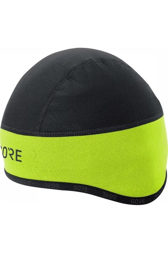Gore Wear Headwear Gore Windstopper Helmet Cap mid yellow/black