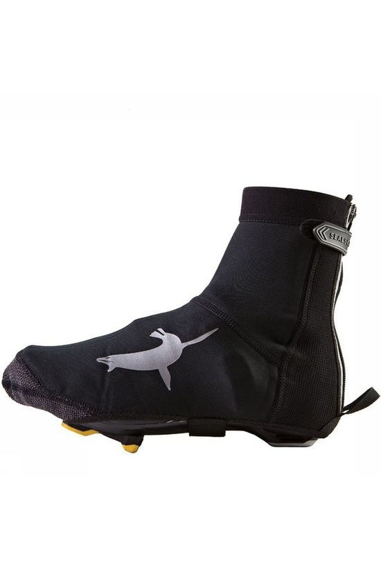 Sealskinz Overshoe Neoprene Open Sole black