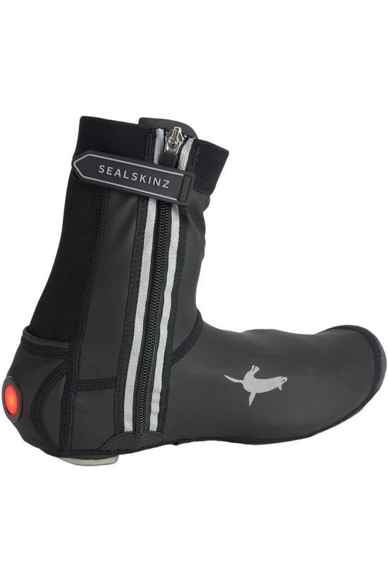 Sealskinz Overshoe All Weather Led Open Sole Cycle black