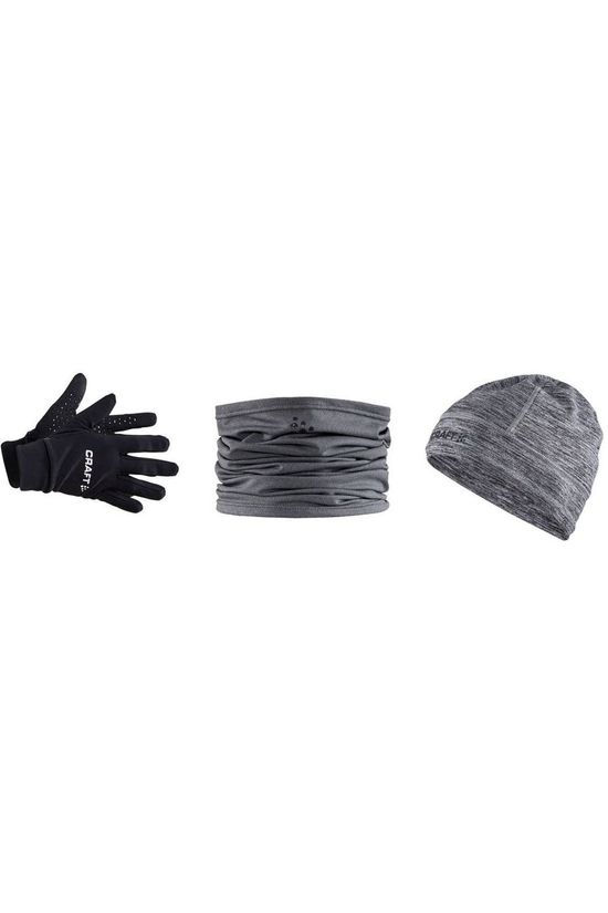 Craft Accessoire Gift Pack Hat S/M Glove M black