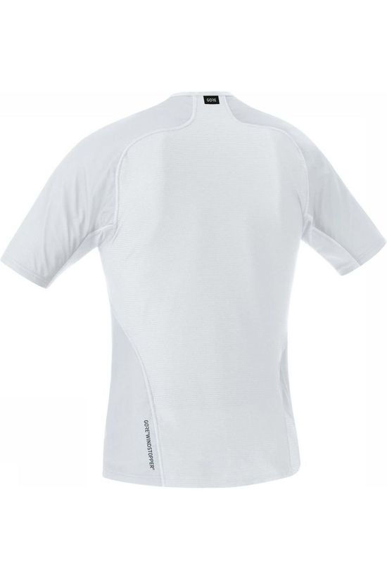 Gore Wear Ondergoed M Gore Windstopper Base Layer Lichtgrijs/Wit