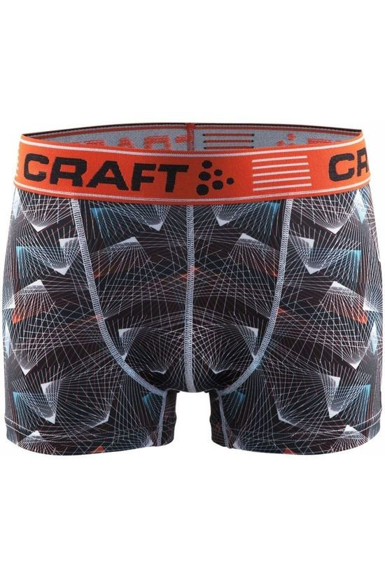 Craft Shorts Greatness Boxer Black/Ass. Geometric